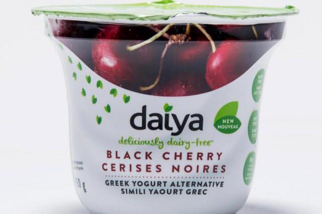Simili yaourt grec aux cerises noiresDaiya... (Photo Alain Roberge, La Presse)