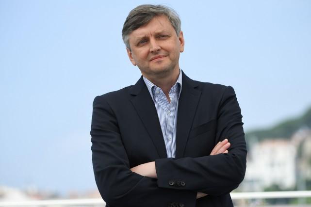 Le réalisateur ukrainien Sergueï Loznitsa a présenté La... (PHOTO AFP)