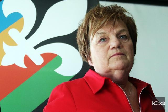 La présidente des Organisations unies pour l'indépendance (OUI... (Photo Étienne Ranger, archives Le Droit)