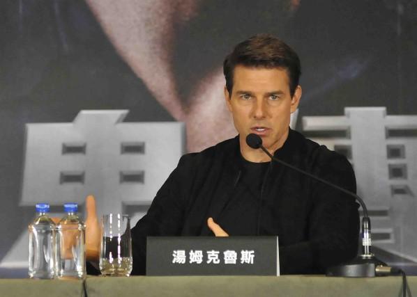 Tom Cruise était à Taipei cette semaine pour... (AFP)