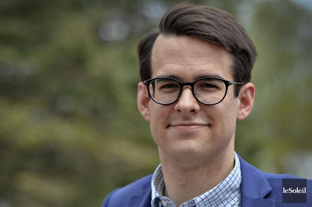 Le candidat à la mairie de Québec Nicolas... (Photothèque Le Soleil, Patrice Laroche)