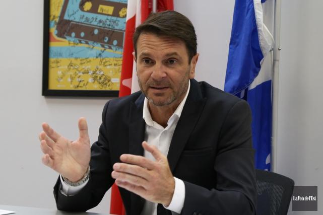 Le député caquiste de Granby,François Bonnardel... (Janick Marois, archives La Voix de l'Est)