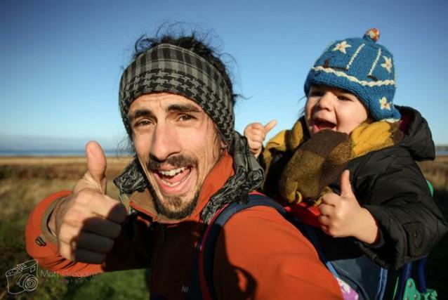 Mathieu Grégoire, un jeune père de famille, a... (Photo fournie)