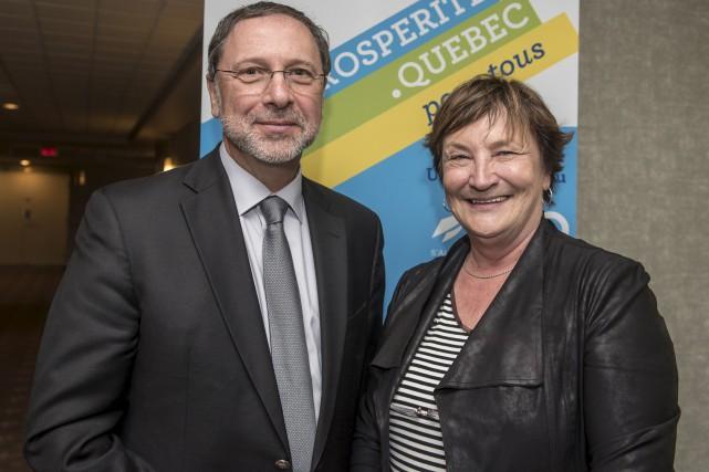 Yves-Thomas Dorval, président-directeur général du Conseil du patronat... (Spectre Média, Jessica Garneau)