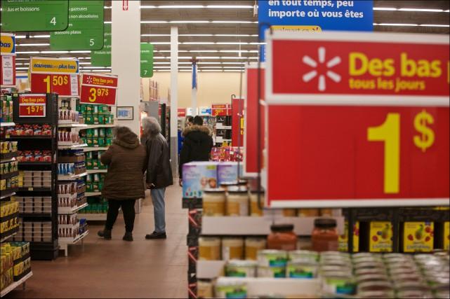 Walmart vend maintenant pour environ 13 milliards de... (La Presse Andre Pichette)