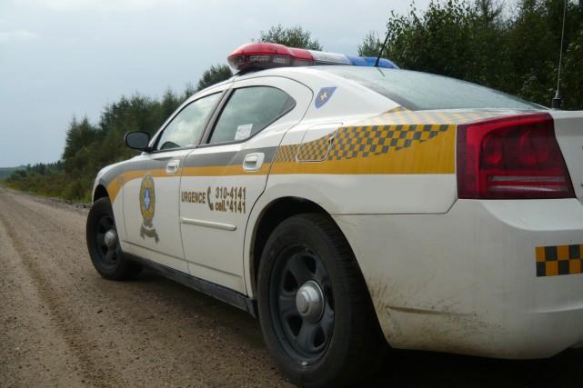 Auto-patrouille de la Sûreté du Quéˆbec....