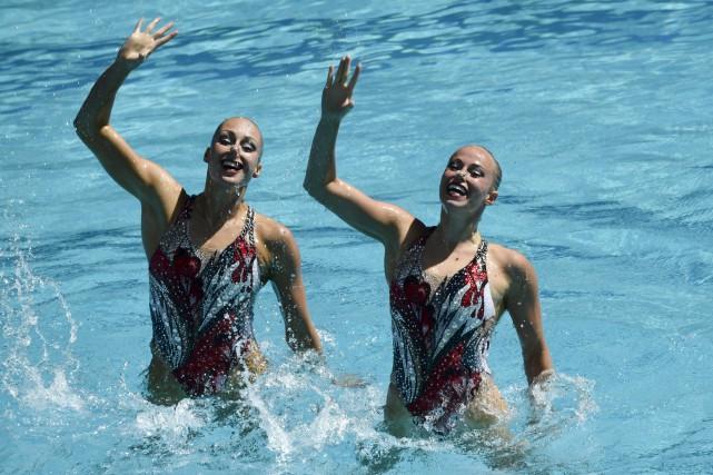 Le Droit a appris que la nageuse synchronisée... (Archives, Agence France-Presse)
