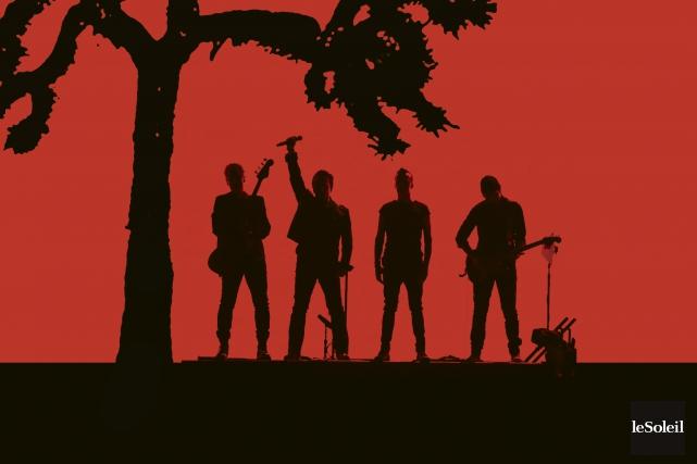 Il y a 30 ans, U2 lançait The Joshua Tree, appelé à devenir l'un des... (Infographie Le Soleil)