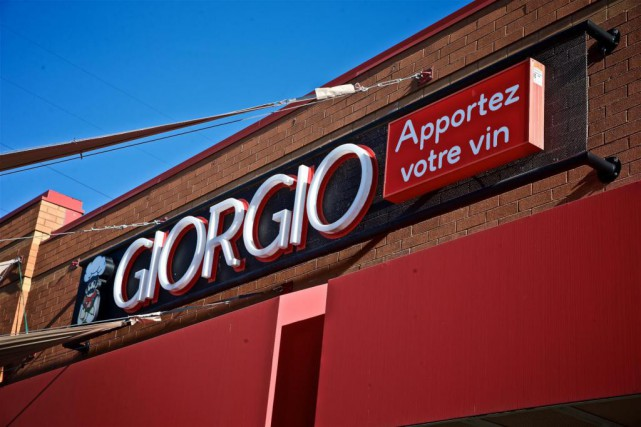 En 1995, Giorgio comptait 30 restaurants. Au moment... (Photo André Pichette, Archives La Presse)