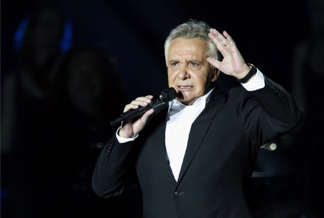 Michel Sardou... (Photo Pierre Verdy, AFP)