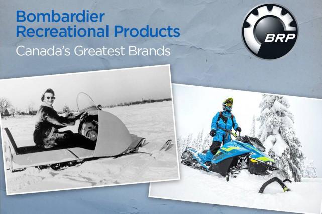 Bombardier Produits récréatifs (BRP) côtoie d'autres entreprises canadiennes... (Photo GlobalNews.ca)