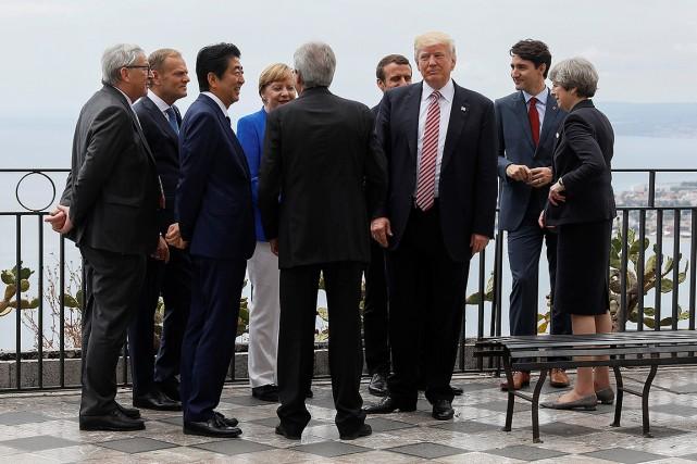 Le sommet de deux jours risque d'être une... (Jonathan Ernst, REUTERS)