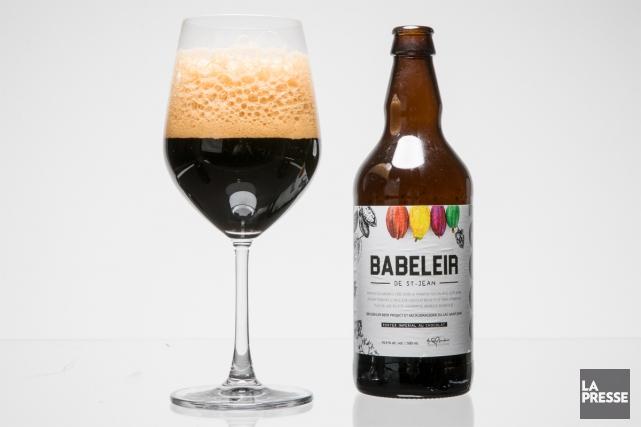 Brassée en collaboration avec la microbrasserie bruxelloise Brussels Beer... (PHOTO MARCO CAMPANOZZI, LA PRESSE)