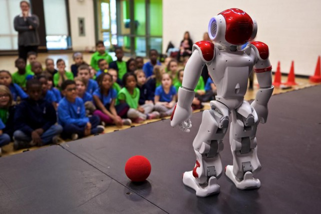 Les élèves de l'école Paul-Jarry parviennent à réaliser... (Photo André Pichette, La Presse)
