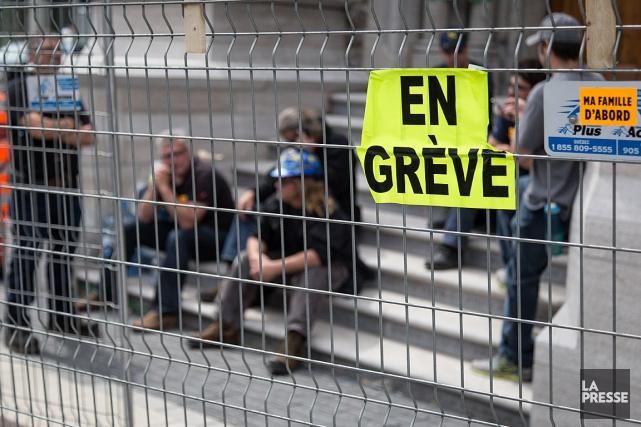 L'Alliance syndicale a rompu les négociations qui visaient... (PHOTO: ARCHIVES LA PRESSE)