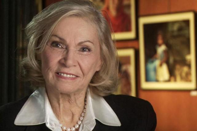 En 1977, Monique Mercure a obtenu le prix... (PHOTO FOURNIE PAR TV5)