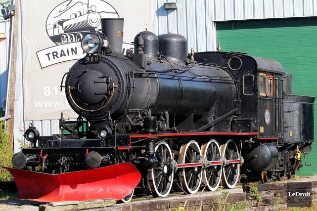 L'avenir du train à vapeur est plus incertain... (Etienne Ranger, Archives Le Droit)