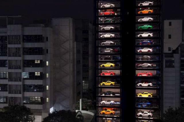 La tendance : la distributrice de voitures