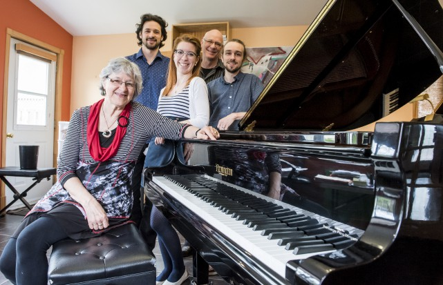 Pour son 30e anniversaire, l'école de musique sherbrookoise... (Photo Spectre média, Jessica Garneau)