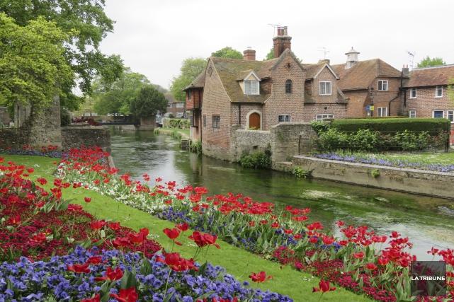 Canterbury mérite qu'on s'y arrête pour plusieurs raisons... (Photo La Tribune, Isabelle Pion)