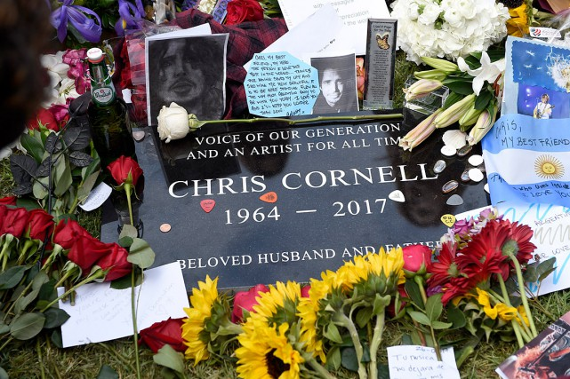 Chris Cornell, une des voix très reconnaissables de... (Photo Chris Pizzello, Associated Press/Invision)