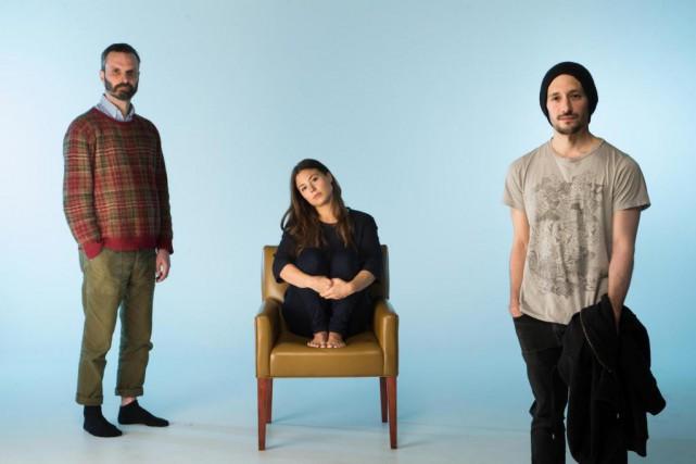 Nicolas Cantin, Daina Ashbee et Manuel Roque... (Photo Olivier Pontbriand, La Presse)