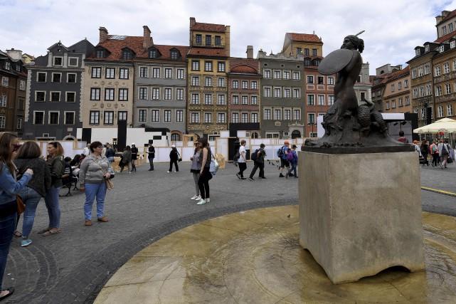Après quatre ans de rénovation, le Musée de... (AFP, Janek Skarzynski)
