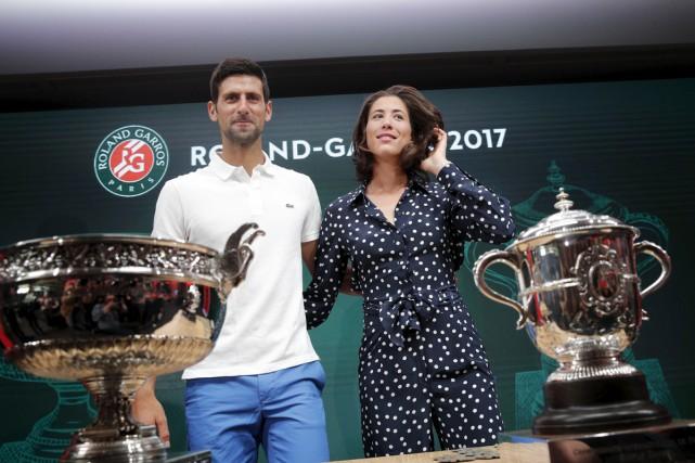 Les deux champions en titre de la dernière... (Christophe Ena, Associated Press)