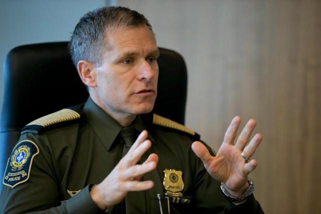 Selon le directeur général de la Sûreté du... (Photo David Boily, La Presse)