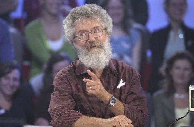 Le controversé Pierre Mailloux lors de son passage... (Radio-Canada)