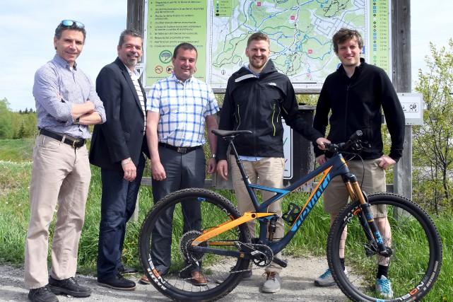 Jean-Robert Wells, président de Vélo-Chicoutimi, a fait le... (Le Progrès, Rocket Lavoie)