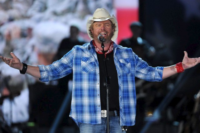 Toby Keith... (Courtoisie)
