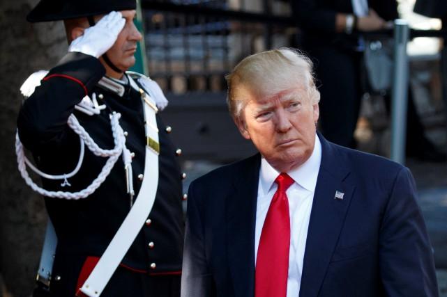 Donald Trump... (Photo Evan Vucci, REUTERS)