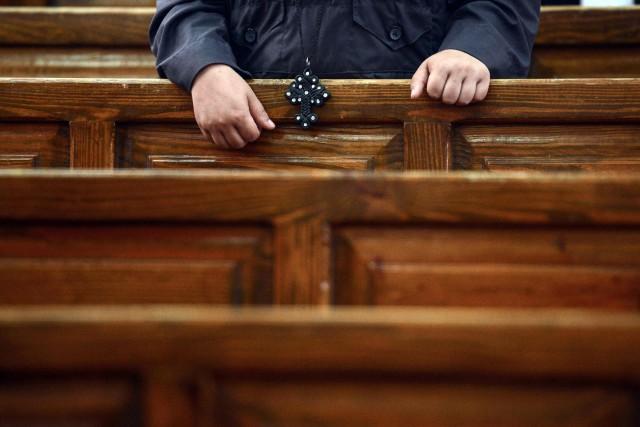 Les hommes masqués ont ordonné aux chrétiens se rendant dans un monastère de... (Photo MOHAMED EL-SHAHED, Agence France-Presse)