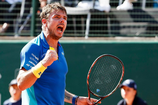 Stanislas Wawrinka... (Photo Salvatore Di Nolfi, AP/Keystone)