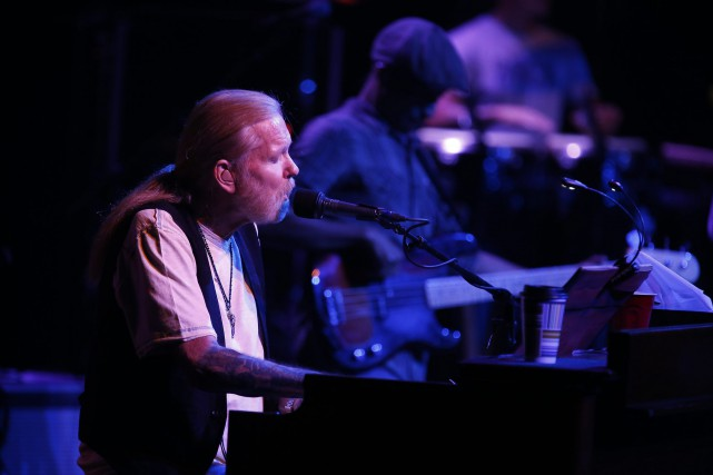 Greg Allman avait 69 ans.... (PHOTO ARCHIVES AP)