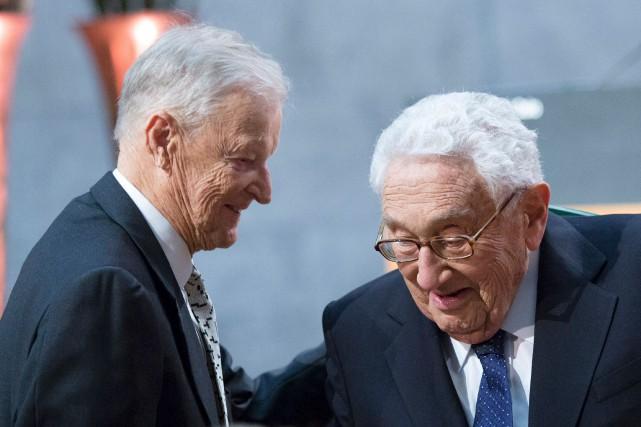 Cette photo du 11 décembre 2016 réunit deux... (Archives AFP)