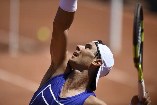 Champion de trois tournois sur terre battue cette... (AFP, Gabriel Bouys)