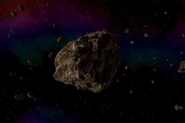 En comptant les météorites et les poussières spatiales,... (123rf/Miroslav Nemecek)
