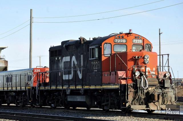 Quelque 3000 chefs de train et préposés aux... (PHOTO GRAHAM HUGHES, ARCHIVES LA PRESSE CANADIENNE)