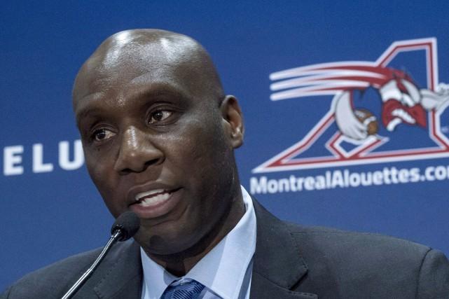 Le directeur-général des Alouettes, Kavis Reed... (Photo Paul Chiasson, archives la presse canadienne)