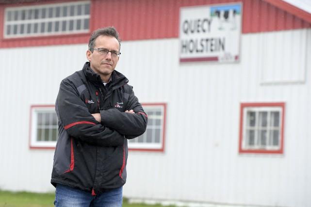 Producteur laitier beauceron, Jacques Roy a mis sur... (Le Soleil, Yan Doublet)