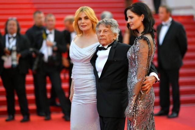 Roman Polanski, 83 ans, était samedi à Cannes... (PhotoLOÏC VENANCE, Agence France-Presse)