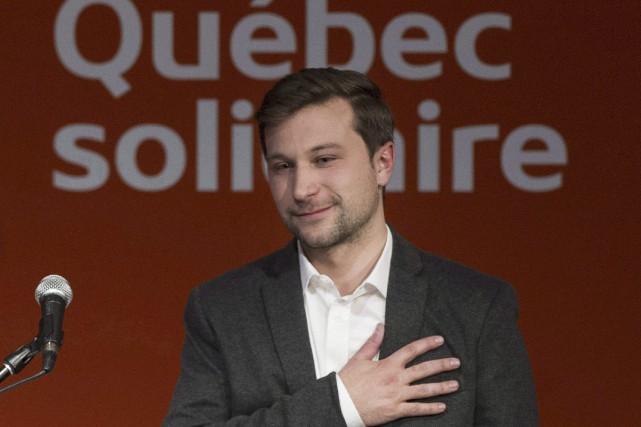 Les forts taux d'appuis à Françoise David dans... (La Presse Canadienne)