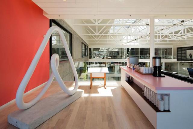 Les bureaux de Airbnb à San Francisco... (Archives New York Times)