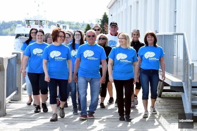 Société Alzheimer du Saguenay-Lac-Saint-Jean... (Le Quotidien, Rocket Lavoie)
