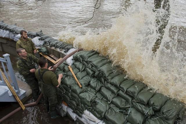 Des réservistes de Sherbrooke ont participé à l'Opération... (Photo fournie)