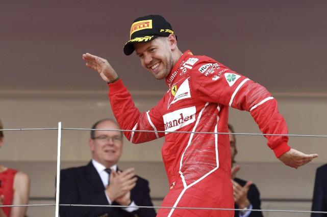 En vertu de ces résultats, Vettel dispose maintenant... (AFP, Andrej Isakovic)