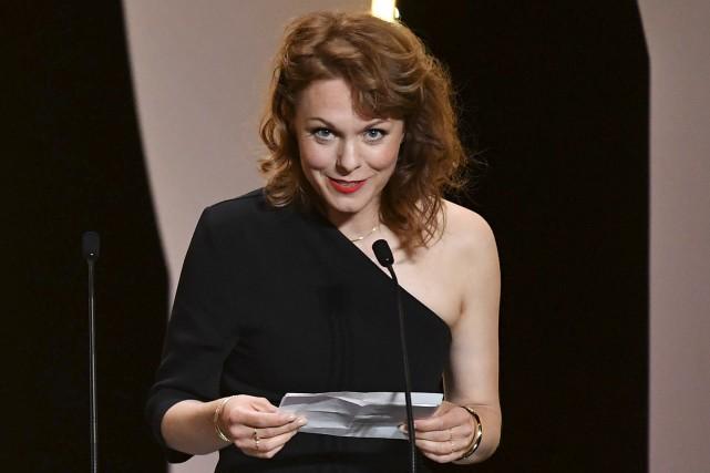 La réalisatrice allemande Maren Ade a accepté le... (AFP, Alberto PIZZOLI)