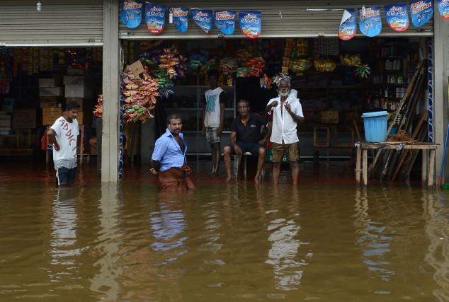 De nouvelles pluies de mousson prévues pour lundi... (PHOTO AFP)